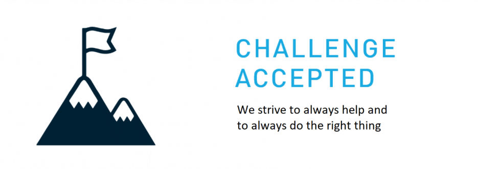 Our Values - Challenge Accepted