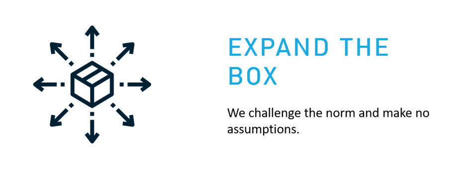 Our Values - Expand The Box
